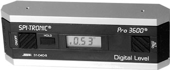 Digital Inclination Level, PRO-3600 Model