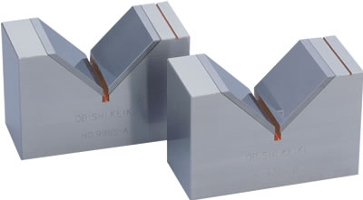 Precision V Block with Tungsten Carbide