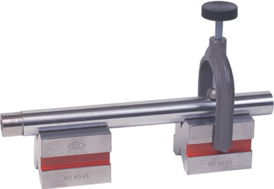 Hardened Steel V Block with Clamp