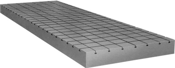 Surface Plate with Groove