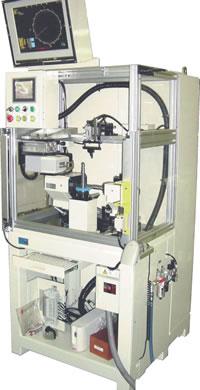 蜗轮自动测量装置