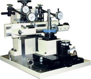 台式蜗轮测量装置