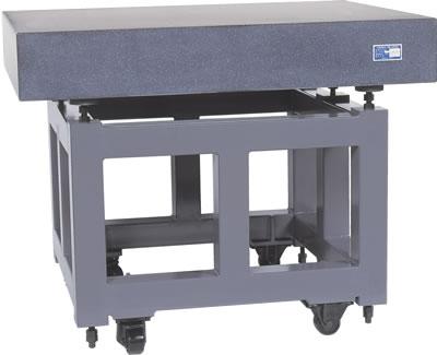 キャスタ-付定盤用架台(石製・鋳鉄製JIS定盤用)
