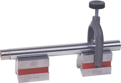 硬鋼製 クランプ付Vブロック