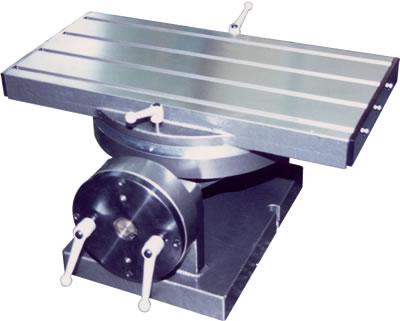 回転傾斜テーブル製作例
