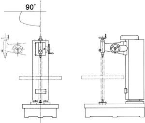 ヘッド回転式縦形偏心検査器(SVP形)