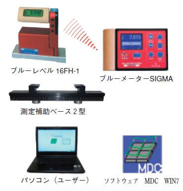 M.D.C for Windows AT-7型(真直度・平面度測定システム)